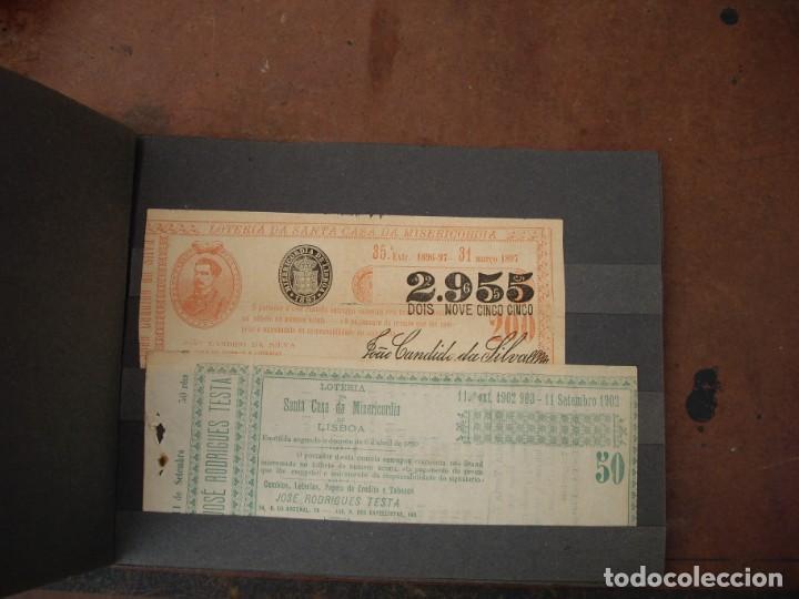 Lotería Nacional: loteria da santa casa da misericordia portugal 8 numeros de 1893 hasta 1903 - Foto 3 - 169948408