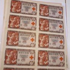 Lotería Nacional: LOTERÍA NACIONAL, 5 OCTUBRE 1957, BILLETE COMPLETO.. Lote 170339004