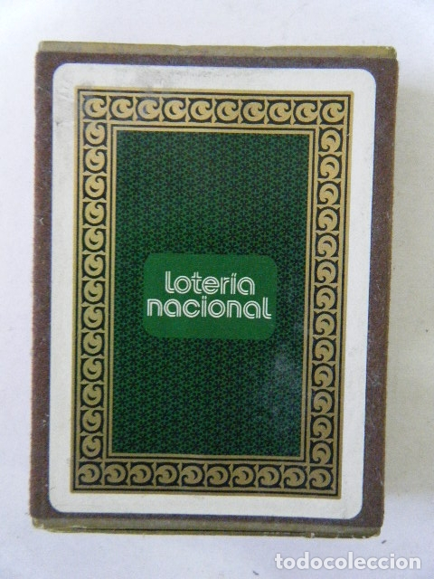 Lotería Nacional: BARAJA LOTERÍA NACIONAL 1975 PRECINTADA. - Foto 2 - 177493982