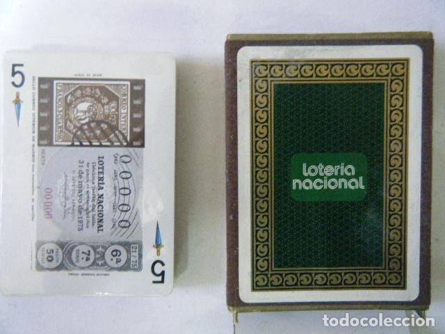 BARAJA LOTERÍA NACIONAL 1975 PRECINTADA. (Coleccionismo - Lotería Nacional)