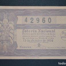 Lotería Nacional: LOTERÍA NACIONAL. SORTEO Nº 29. 15 DE OCTUBRE DE 1954. ROMANJUGUETESYMAS.. Lote 177585643
