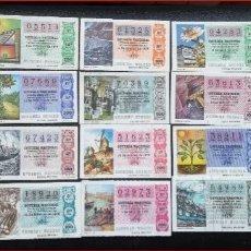 Lotería Nacional: 1978. LOTERIA NACIONAL AÑO 1978 COMPLETO. Lote 177986220