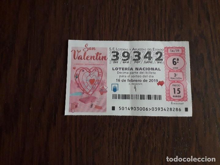 Décimo Lotería Nacional De Dia 16 02 19 Sorteo Comprar Lotería Nacional Antigua En Todocoleccion 178235468