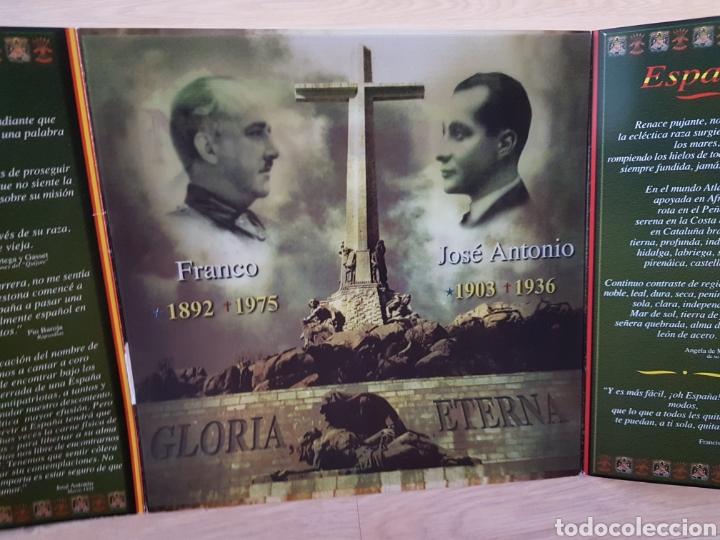 Lotería Nacional: TRIPTICO FRANCO-JOSE ANTONIO LOTERIA NAVIDAD. AÑO 2002 - Foto 4 - 178582933