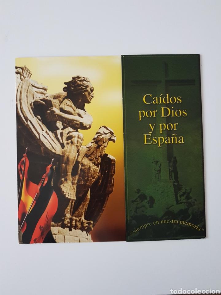 TRIPTICO FRANCO-JOSE ANTONIO LOTERIA NAVIDAD. AÑO 2002 (Coleccionismo - Lotería Nacional)