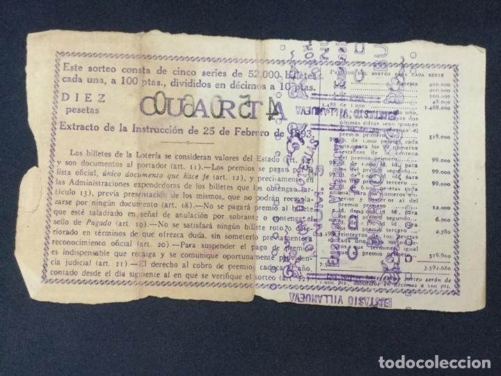 Lotería Nacional: LOTERIA NACIONAL - 1949 SORTEO 8 - Foto 2 - 181545972