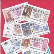 Lotería Nacional: LOTERIA NACIONAL 2004 COMPLETO SABADOS 51 DECIMOS. Lote 181694531