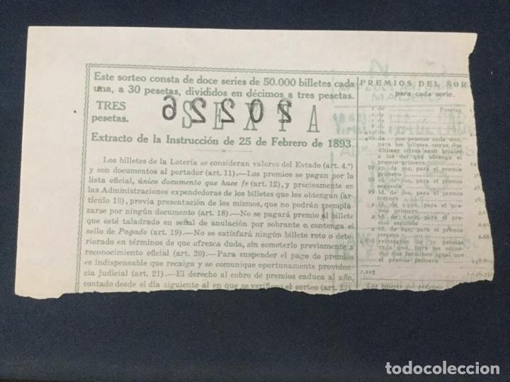 Lotería Nacional: LOTERIA NACIONAL - 1946 SORTEO 3 - Foto 2 - 181696581