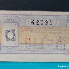 Lotería Nacional: LOTERIA DEL 1893 SORTEO 23 DE DICIEMBRE. Lote 181883938