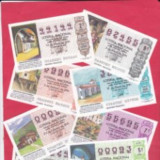 Lotería Nacional: LOTERIA NACIONAL 1991 COMPLETO SABADOS 50 DECIMOS. Lote 181907011