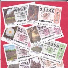 Lotería Nacional: LOTERIA NACIONAL 1999 COMPLETO SABADOS 51 DECIMOS. Lote 181907380