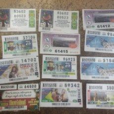 Lotería Nacional: LOTE DE 154 PARTICIPACIONES Y DECIMOS LOTERIA (LEER DESCRIPCIÓN). Lote 181915728