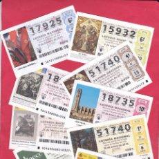 Lotería Nacional: LOTERIA NACIONAL 2013 COMPLETO SABADOS 51 DECIMOS. Lote 181953357