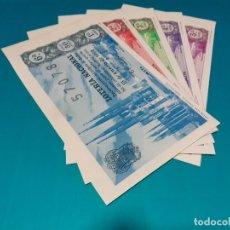 Lotería Nacional: LOTERIA 1962 SORTEO 2 .SERIES COMPLETAS. Lote 182768122