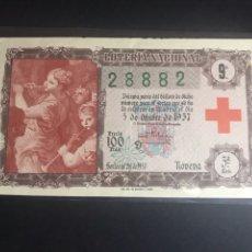 Lotería Nacional: LOTERIA NACIONAL AÑO 1957 SORTEO 28. Lote 183950677