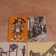 Lotería Nacional: 5 POSTALES DE ** LOTERIA ** 1974 N. 1 - 6 - 7 - 11 - 12 .. Lote 183974468