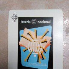 Lotería Nacional: CARTAS LOTERÍA NACIONAL ( BARAJA CARTAS ). Lote 184550263