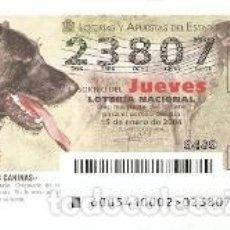 Lotería Nacional: LOTERÍA JUEVES, SORTEO 5 DE 2004. MAJORERO CANARIO. REF. 10-0405. Lote 184594452