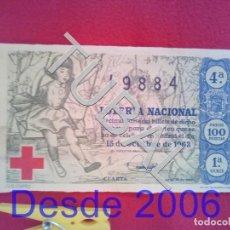 Lotería Nacional: TUBAL LOTERIA NACIONAL 29 15 OCTUBRE 1963 19884 ENVIO 0,7 € 2019 B12. Lote 186096251
