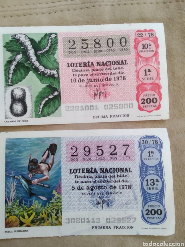 LOTERÍA NACIONAL 1978 (Coleccionismo - Lotería Nacional)