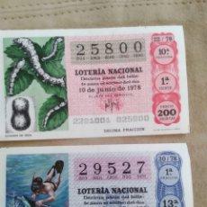 Lotería Nacional: LOTERÍA NACIONAL 1978. Lote 186220318