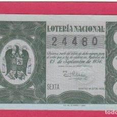 Loterie Nationale: LOTERIA NACIONAL SORTEO 27 DE 1956. Lote 187464417