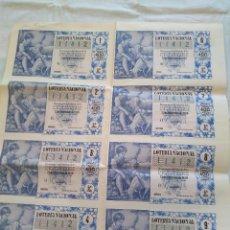 Lotería Nacional: LOTERIA NACIONAL 22 DICIEMBRE 1959. SERIE 5. Lote 190898927