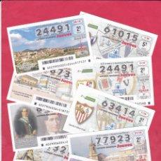 Lotteria Nationale Spagnola: LOTERIA AÑO 2019 COMPLETO 52 DECIMOS JUEVES. Lote 190901867