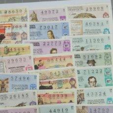 Lotería Nacional: LOTERIA NACIONAL AÑO 1971 - 40 DECIMOS - FIESTA DE LOS TOROS. Lote 191122360