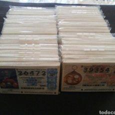 Lotería Nacional: LOTE 40 AÑOS COMPLETOS LOTERÍA NACIONAL DEL JUEVES Y SÁBADOS DEL 2000 AL 2019. Lote 191161850