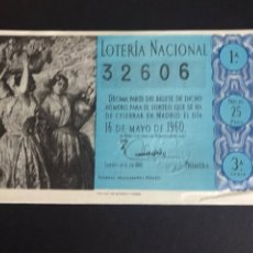 Loterie Nationale: LOTERIA AÑO 1960 SORTEO 14. Lote 191406371