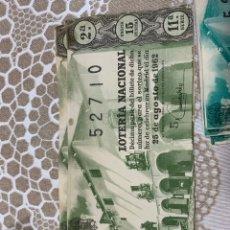 Lotería Nacional: LOTERÍA NACIONAL. Lote 191697765