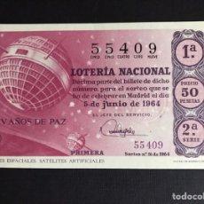 Lotería Nacional: LOTERIA AÑO 1964 SORTEO 16. Lote 191824593