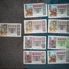 Lotería Nacional: 11 DECIMOS LOTERÍA NACIONAL 1979. Lote 193196095