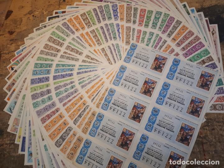 LOTERÍA 1975 AÑO COMPLETO BILLETES, 500 DÉCIMOS. (Coleccionismo - Lotería Nacional)