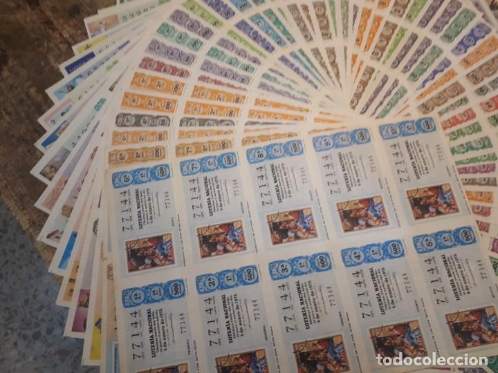 Lotería Nacional: Lotería 1975 año completo billetes, 500 décimos. - Foto 2 - 193993280