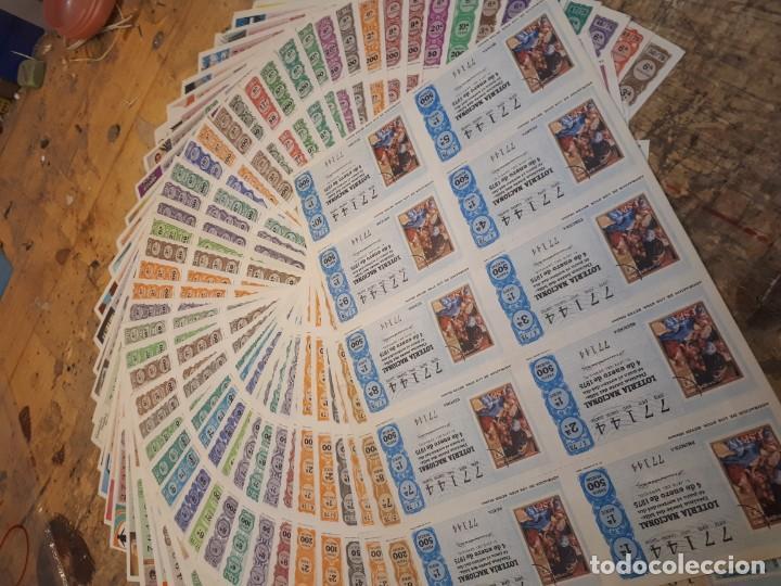 Lotería Nacional: Lotería 1975 año completo billetes, 500 décimos. - Foto 10 - 193993280