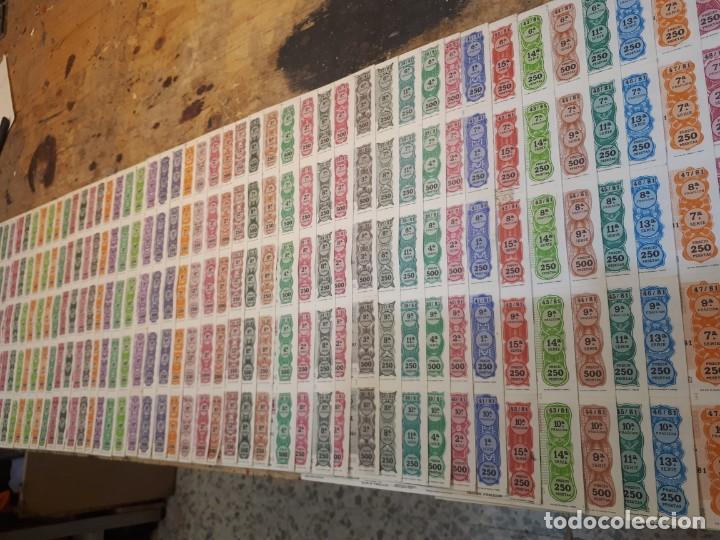 LOTERÍA 1981 AÑO COMPLETO BILLETES, 400 DÉCIMOS. (Coleccionismo - Lotería Nacional)