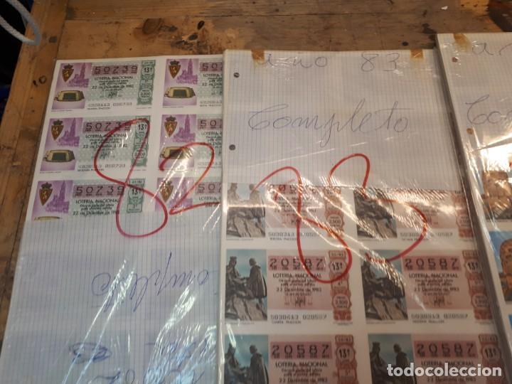 Lotería Nacional: Lotería años 80 sorteos completos. Precio por año. - Foto 3 - 193997231
