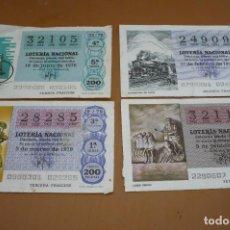 Lotería Nacional: LOTERIA AÑO 1979. Lote 194392162