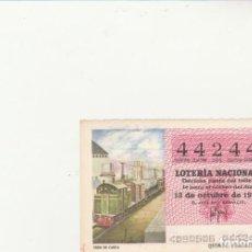 Lotería Nacional: LOTERIA NACIONAL 1979 SORTEO Nº 40 SERIE 6ª NUMERO CAPICUA 44244. Lote 194613052