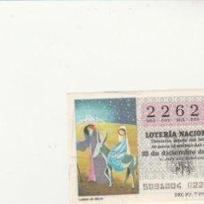 Lotería Nacional: LOTERIA NACIONAL 1979 SORTEO Nº 50 SERIE 4ª NUMERO CAPICUA 22622. Lote 194614197