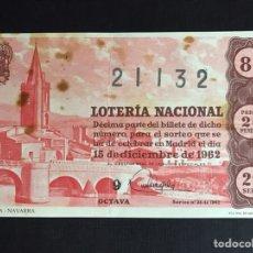 Lotería Nacional: LOTERIA AÑO 1962 SORTEO 35. Lote 194629415