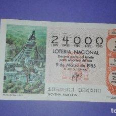 Lotería Nacional: DECIMO DE LOTERIA 24000. Lote 194644697