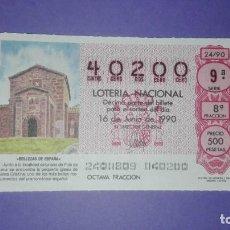 Lotería Nacional: DECIMO DE LOTERIA 40200. Lote 194645205