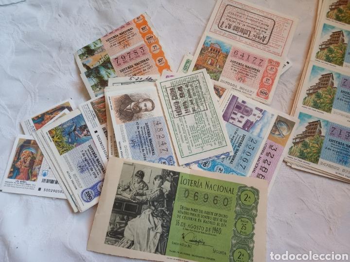 Lotería Nacional: Lote loteria nacional años 70. Series y decimos. Loterias.cupones.juego.años 70 - Foto 3 - 194659680
