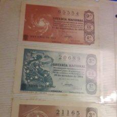 Lotería Nacional: LOTERIA NACIONAL DECIMO DE 1964. Lote 194725078