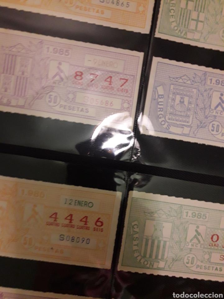 Lotería Nacional: Lote loteria cupon pro ciegos Enero de 1985 - Foto 3 - 194890296