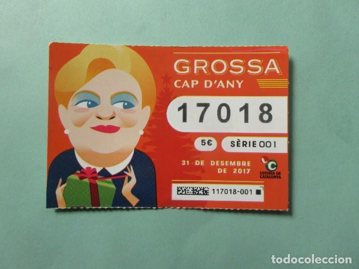 DECIMO DE LOTERIA DE LA GROSA DEL 31 DE DICIEMBRE DE 2.017 (Coleccionismo - Lotería Nacional)