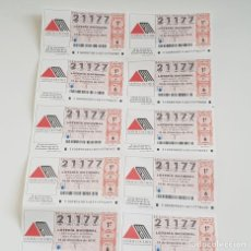 Lotería Nacional: BILLETE LOTERÍA NACIONAL, SORTEO 100/19,14 DICBRE 2019,DÍA NACIONAL ESCLEROSIS MÚLTIPLE,DEFECTO. Lote 194943837